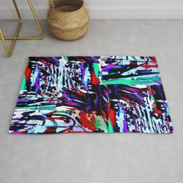 Stress Painting Rug