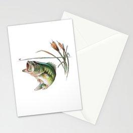 Bass Sketch Stationery Cards
