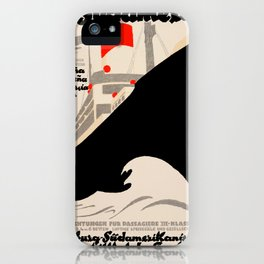 Nautical Art 84 iPhone Case