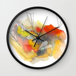 Sunplanes Wall Clock
