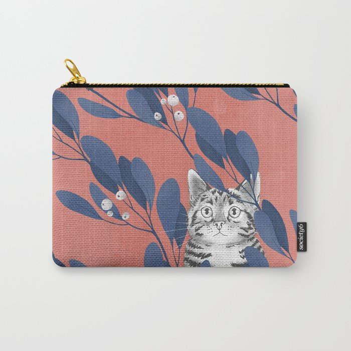 in the wild // repeat pattern Carry-All Pouch