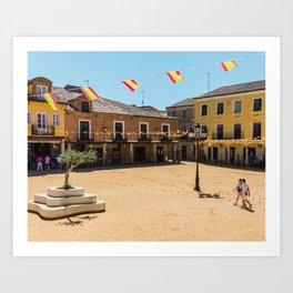 Villalpando Plaza Art Print