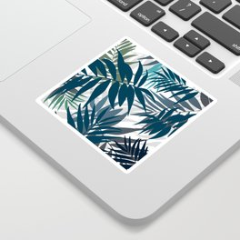 Shadow palm tree leaves Sticker