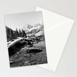 Maroon Bells Mountains Colorado Stationery Cards