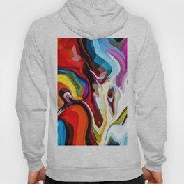 Abstract dragon painting Hoody
