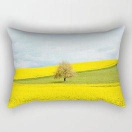 One Tree Hill landscape photograph Rectangular Pillow