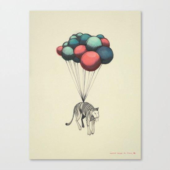 Muerte Desde El Cielo, II (El Tigre) Canvas Print