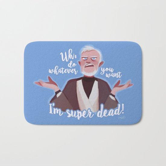 I'm super dead! Bath Mat