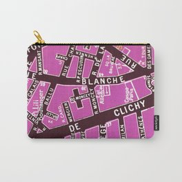 Paris in Pink 2 Carry-All Pouch