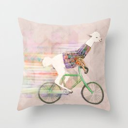 Look At Me Mom!  Throw Pillow