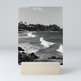 The Beach // Maui, Hawaii Mini Art Print