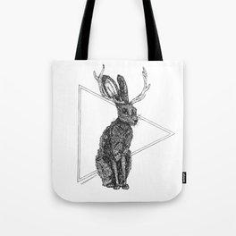 Jackalope - Spirit Animal Tote Bag