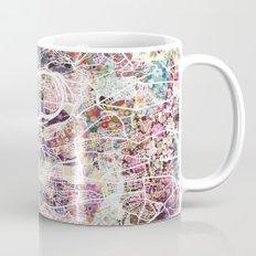 Prague map Mug