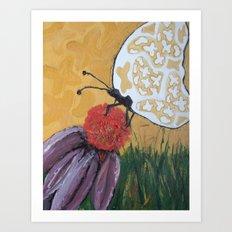 Beauty Within - Panel 2 Art Print