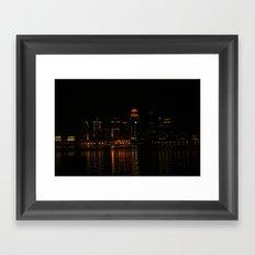 Louisville, Ky Framed Art Print