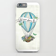 Let your dreams fly hot air balloon iPhone 6s Slim Case