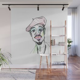 Rapper-a-day project | Day 4: Andre 3000 Wall Mural