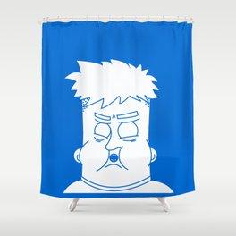 Fat Kid Shower Curtain