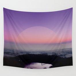 Reservoir Sunrise Wall Tapestry