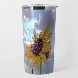 Roadside Sunflower Travel Mug