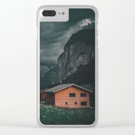 A Night for Reflection Clear iPhone Case