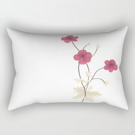 Armenian Cranesbill Flower Rectangular Pillow
