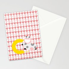 c for cow Stationery Cards