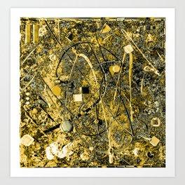 Power of Gold Art Print