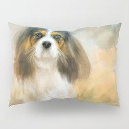 The Attentive Cavalier Pillow Sham