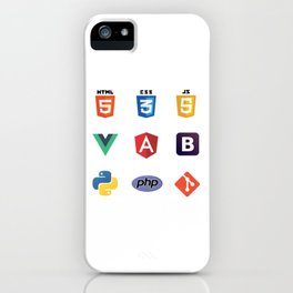Developers Stickers  9 in 1 iPhone Case