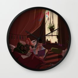 A Day Off Wall Clock