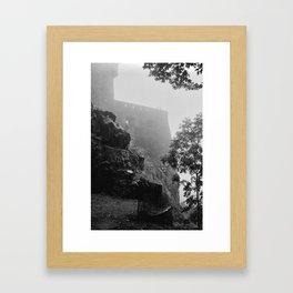 Walls Edinburgh Castle Framed Art Print