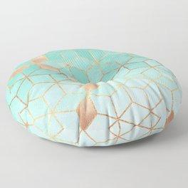 Soft Gradient Aquamarine Floor Pillow