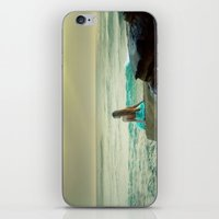 little mermaid iPhone & iPod Skins featuring Little Mermaid by Kim Bajorek