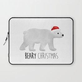 Beary Christmas | Polar Bear Laptop Sleeve