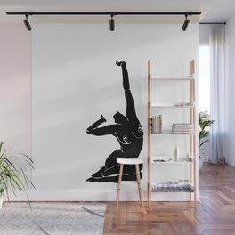 Nude figure print - Louie Silhouette Wall Mural