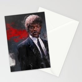 Jules Winnfield Witnesses A Miracle - Pulp Fiction Stationery Cards