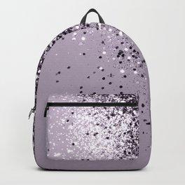 Sparkling Lavender Lady Glitter #1 #shiny #decor #art #society6 Backpack