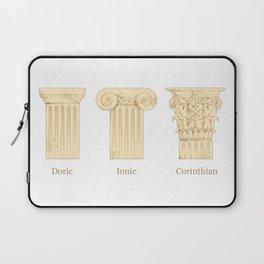 Columns - Creme Laptop Sleeve