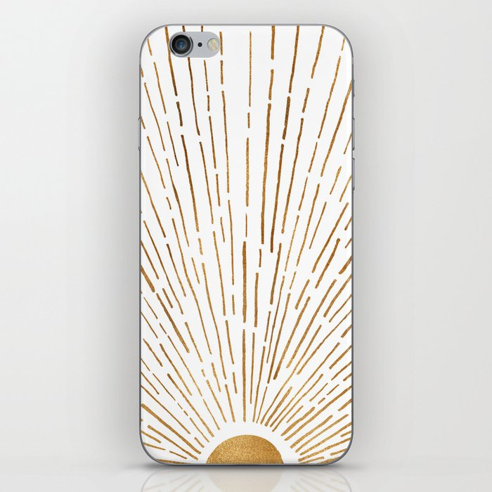 Let The Sunshine In iPhone Skin