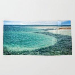 Belize Blues Beach Towel