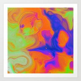 Chemical Chaos Art Print