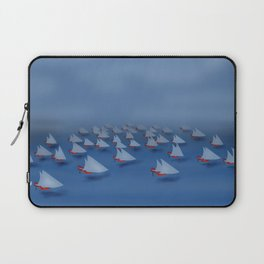 May visiting East - shoes stories Laptop Sleeve