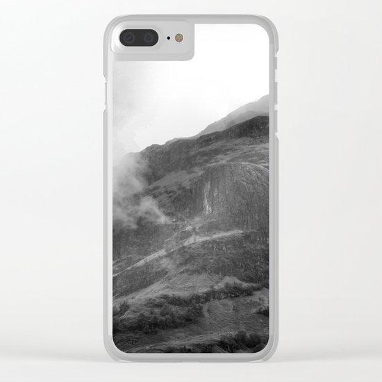 Glencoe, Highlands, Scotland. Clear iPhone Case