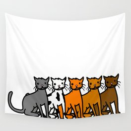 Cattern Pattern   Veronica Nagorny Wall Tapestry
