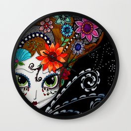 SORCERESS Wall Clock
