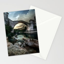 Postcard from Mostar Stationery Cards