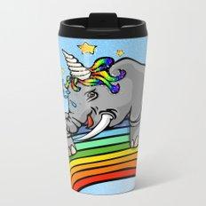 Magical Uniphant! Metal Travel Mug
