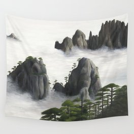 Huángshān (Yellow Mountains) Wall Tapestry