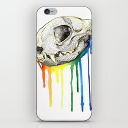 Skull Candy Kitty iPhone Skin